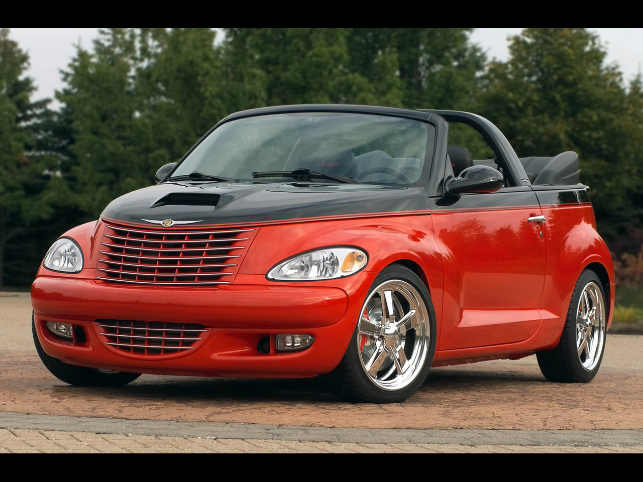 chrysler pt cruiser cabrio photos and comments. Black Bedroom Furniture Sets. Home Design Ideas