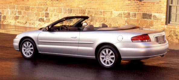 chrysler sebring convertible gtc #0