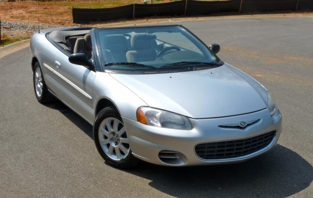 chrysler sebring convertible gtc #7