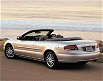chrysler sebring convertible touring #2