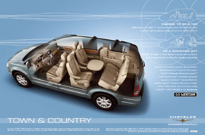 chrysler town & country #1