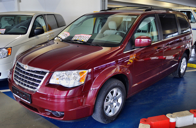 chrysler town & country 3.8 #6