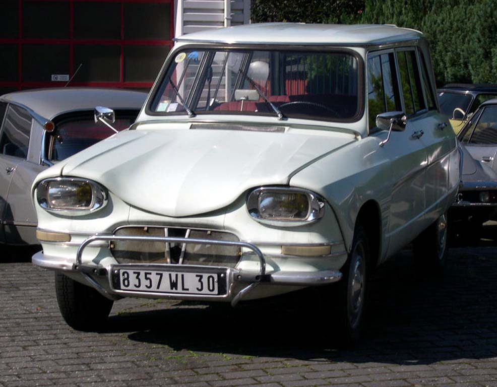 citroen ami 6 break #4