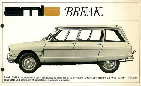 citroen ami 6 break #6