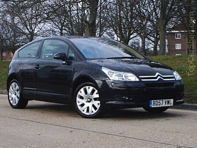 citroen c4 1 6 hdi coupe photos and comments. Black Bedroom Furniture Sets. Home Design Ideas
