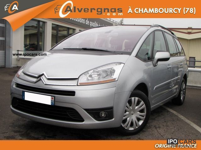 citroen c4 grand picasso hdi 110 photos and comments www. Black Bedroom Furniture Sets. Home Design Ideas