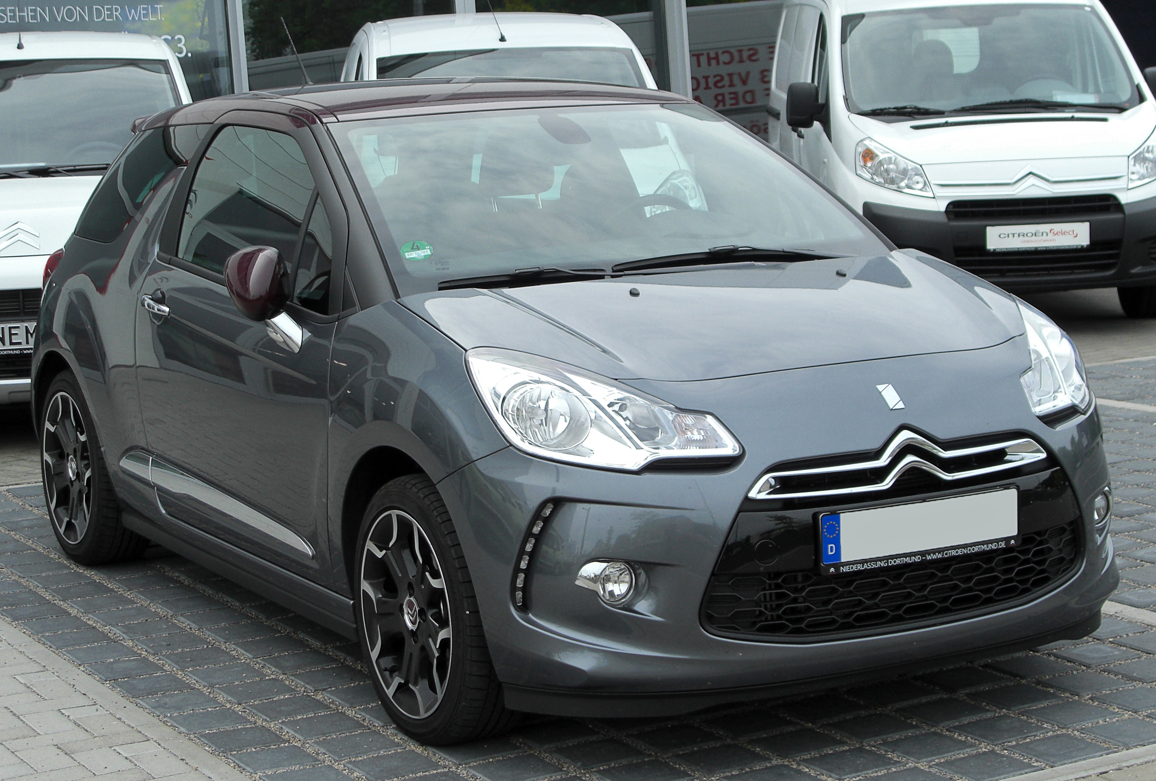 citroen ds3 thp 150 photos and comments. Black Bedroom Furniture Sets. Home Design Ideas
