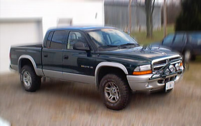dodge dakota quad cab 4x4 #2