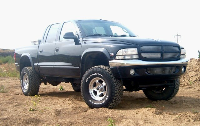 dodge dakota quad cab 4x4 #4
