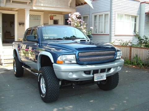dodge dakota quad cab 4x4 #7
