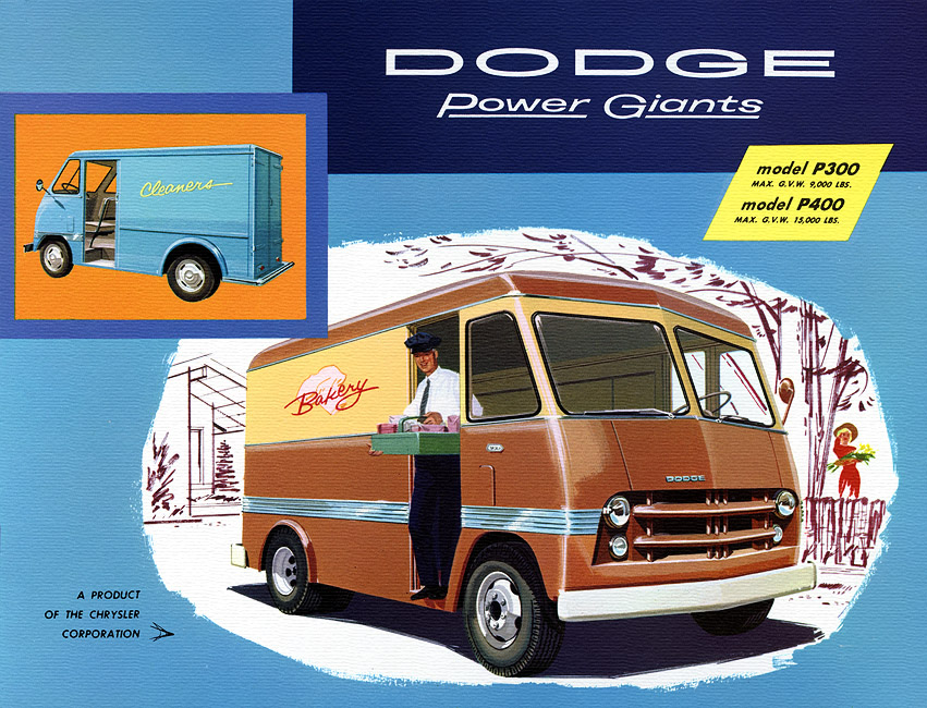 dodge delivery truck-pic. 1