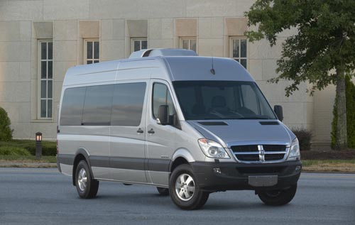 dodge sprinter 2500 van-pic. 1
