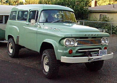 dodge town wagon
