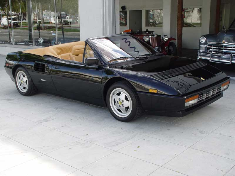 ferrari mondial cabriolet review used 1984 ferrari mondial for sale in powys pistonheads. Black Bedroom Furniture Sets. Home Design Ideas