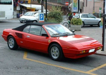 ferrari mondial 3 2 cabriolet photos and comments. Black Bedroom Furniture Sets. Home Design Ideas