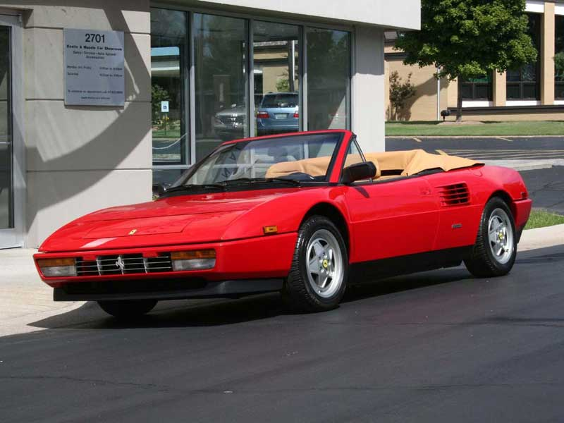 ferrari mondial t cabriolet photos and comments. Black Bedroom Furniture Sets. Home Design Ideas