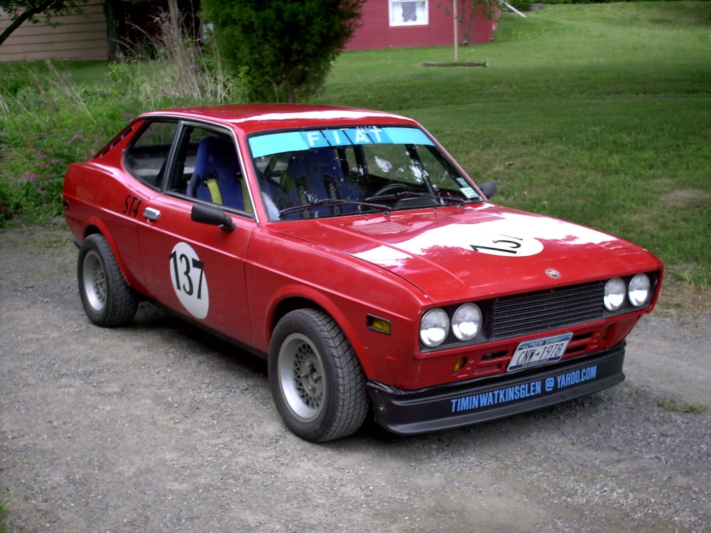 fiat 128 coupe #1