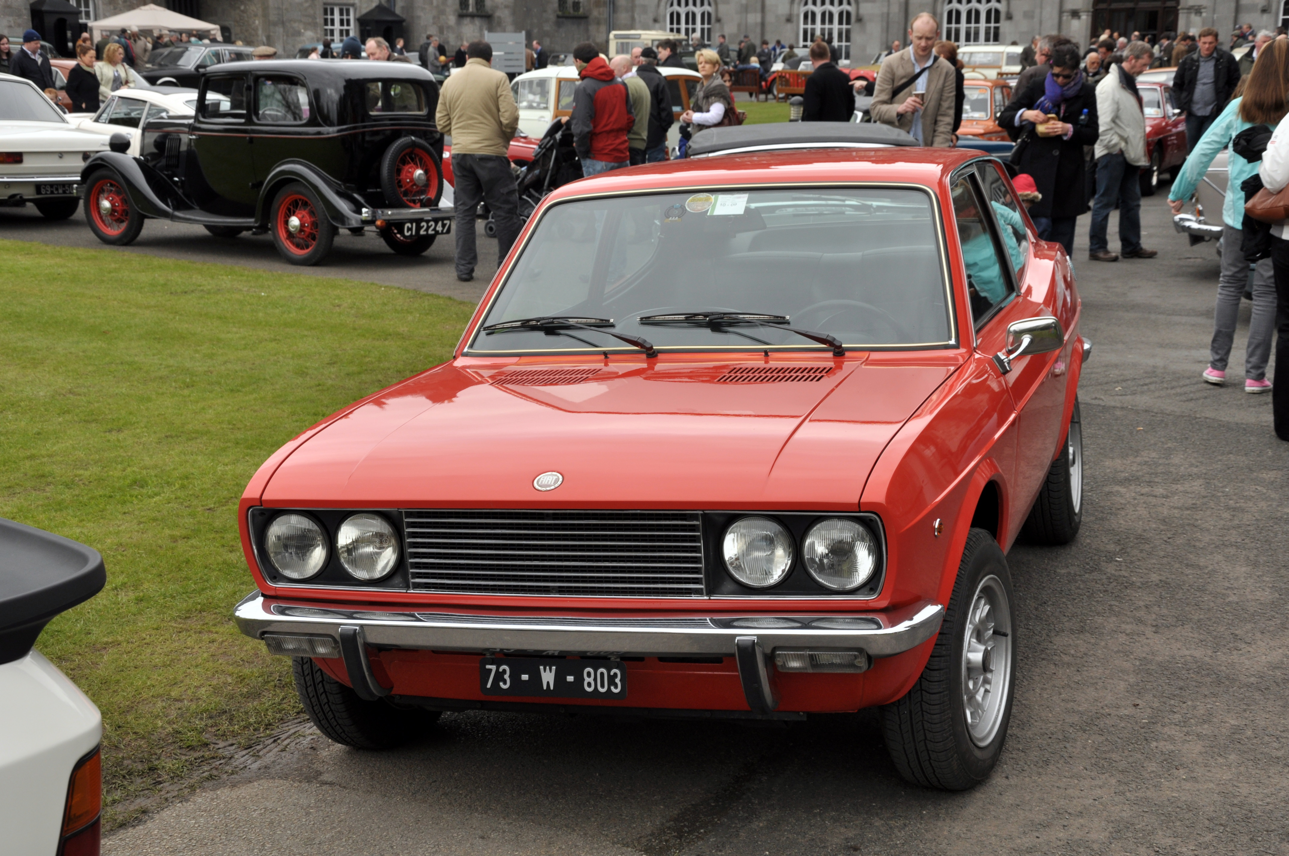 fiat 128 coupe #2