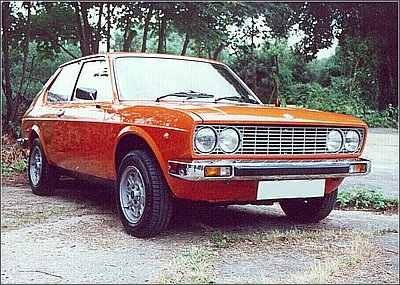 fiat 128 coupe #3
