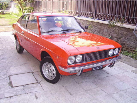 fiat 128 coupe #6