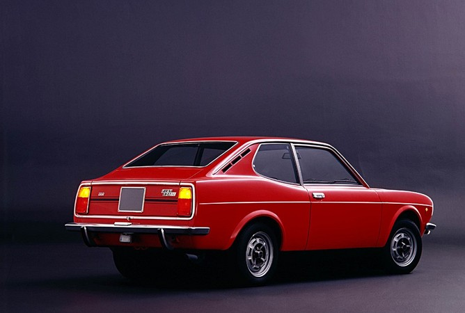 fiat 128 coupe #7