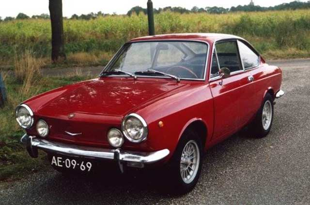fiat 850 coupe photos and comments. Black Bedroom Furniture Sets. Home Design Ideas