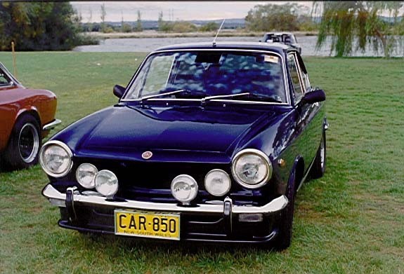 fiat 850 sport coupe photos and comments. Black Bedroom Furniture Sets. Home Design Ideas