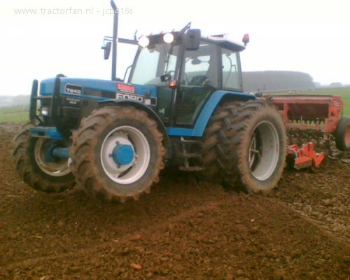 ford 7840 #6