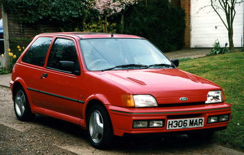 ford fiesta rs turbo #3