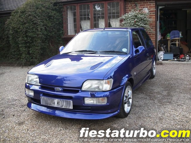 ford fiesta rs turbo #7