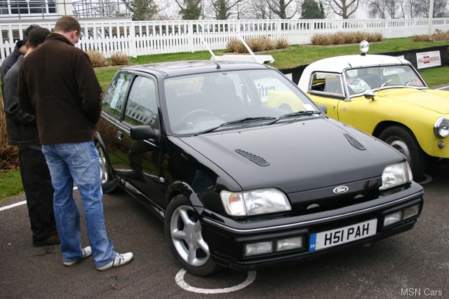 ford fiesta rs turbo #8