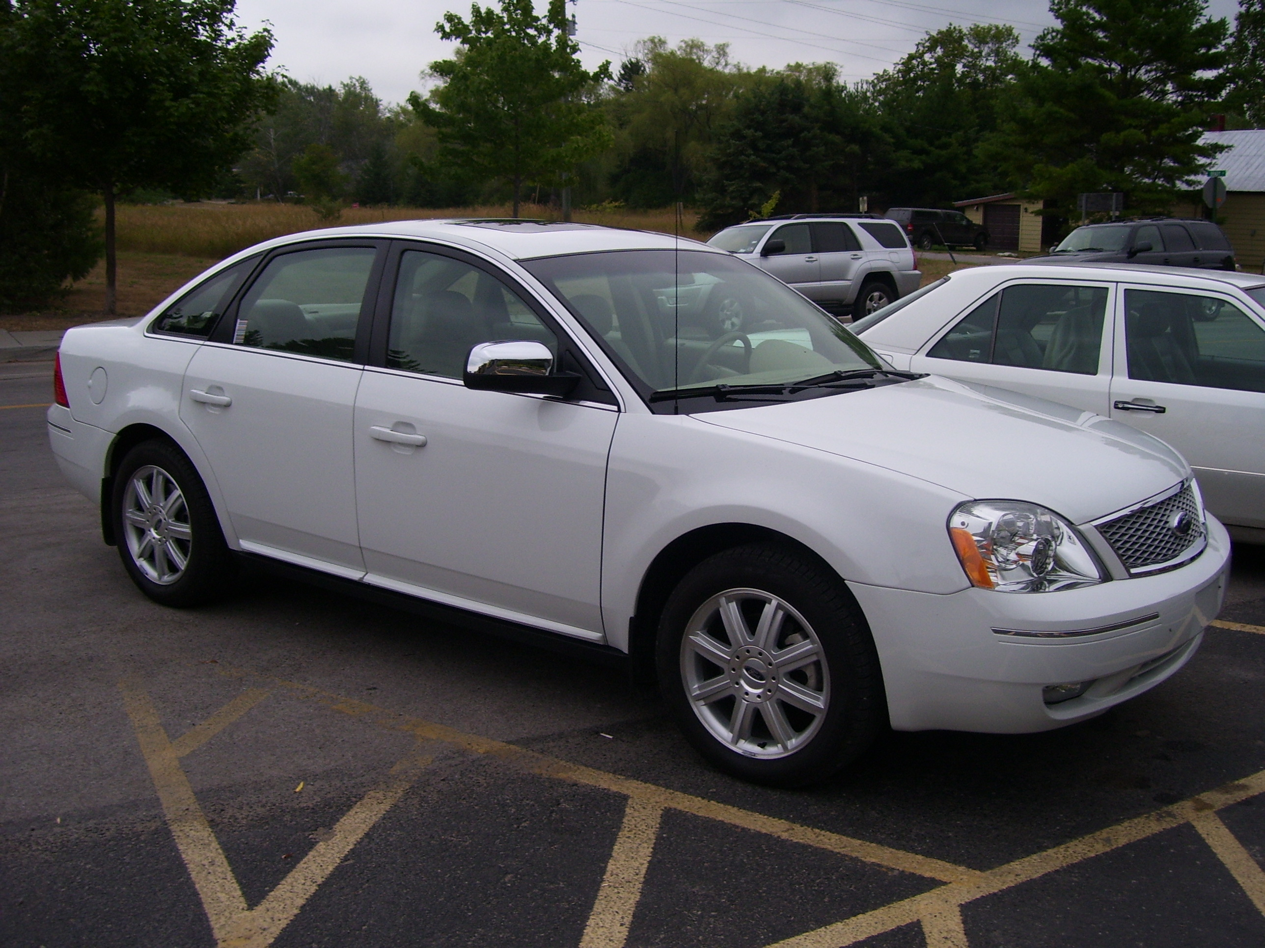 ford five hundred limited #8