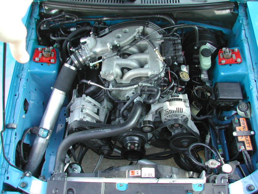ford mustang 3.8 v6-pic. 1