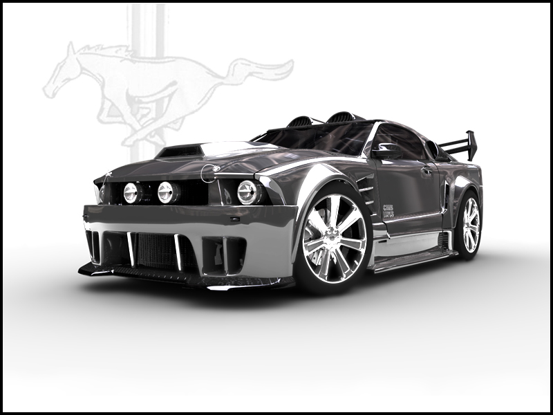 ford mustang gt-pic. 1