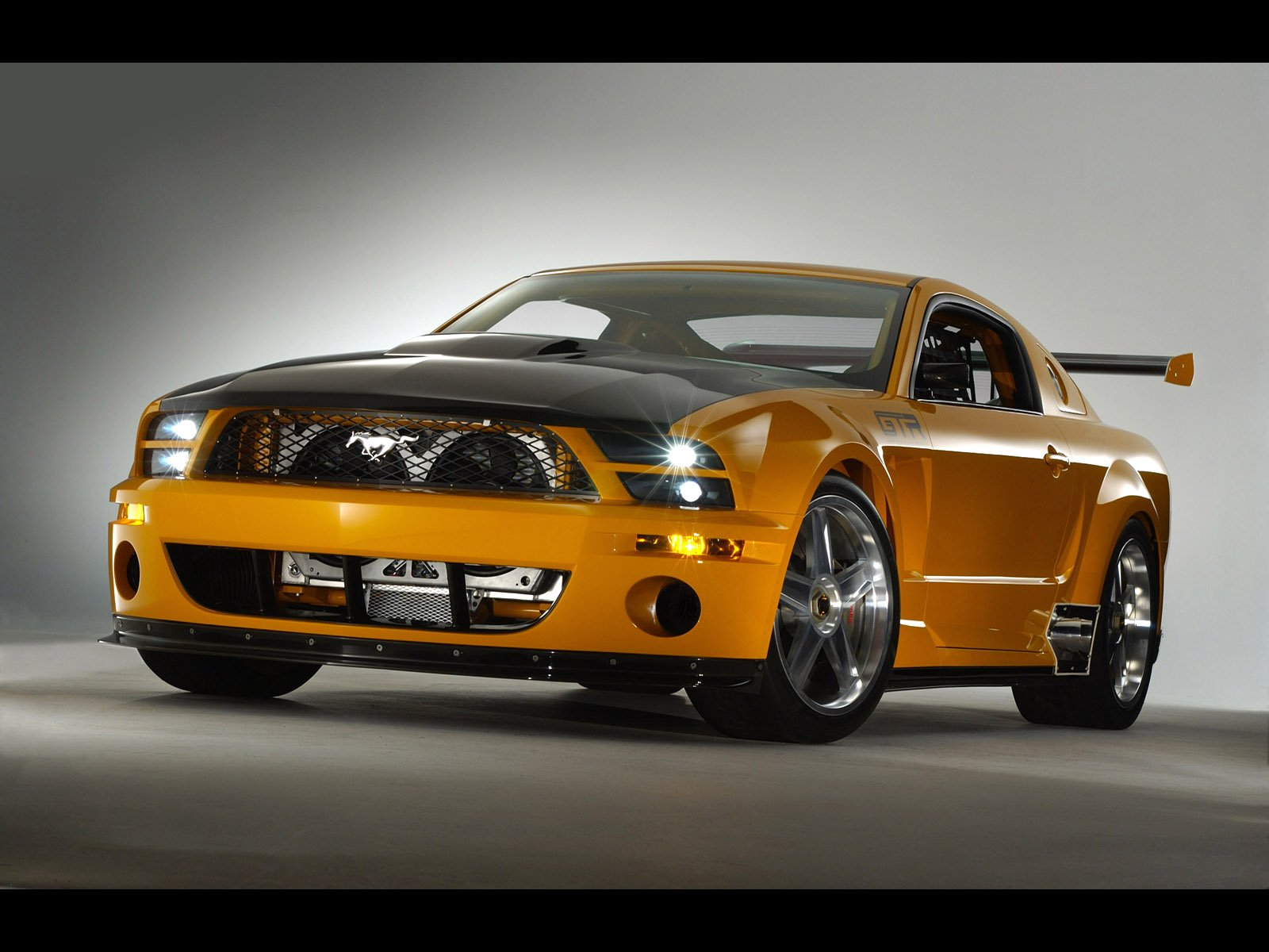 ford mustang gt-r concept-pic. 1