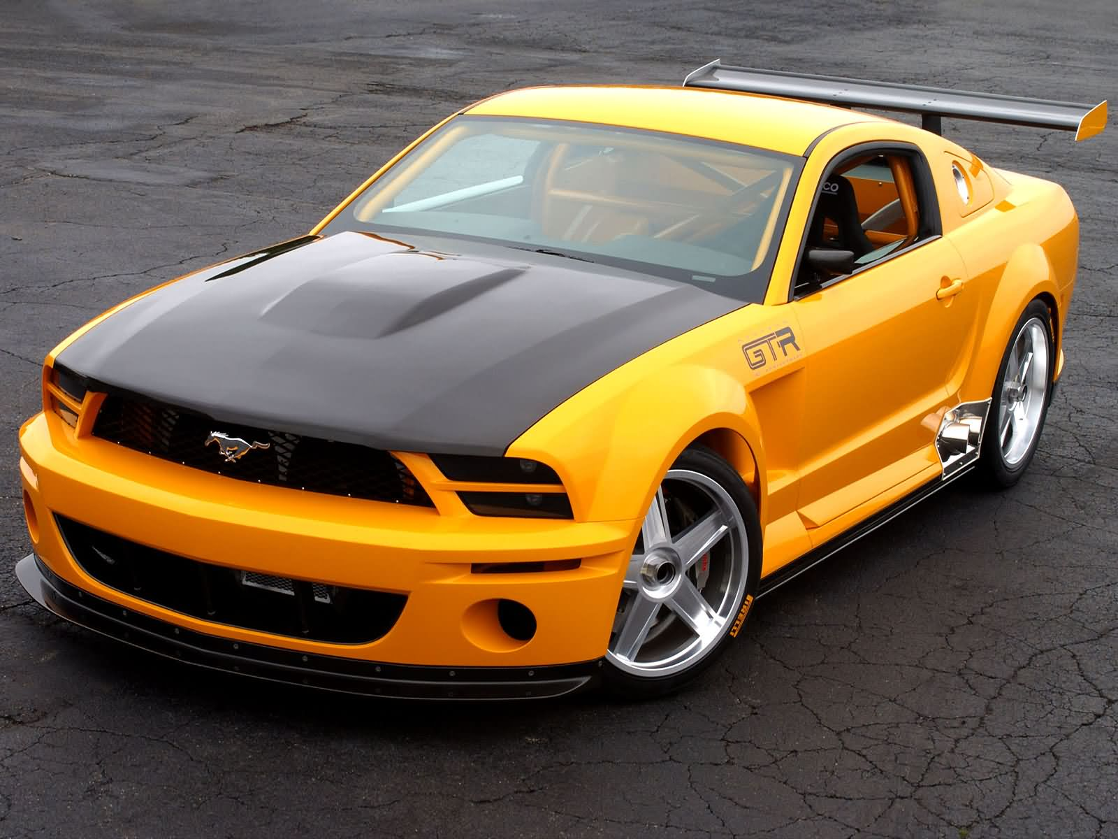 ford mustang gtr-pic. 1
