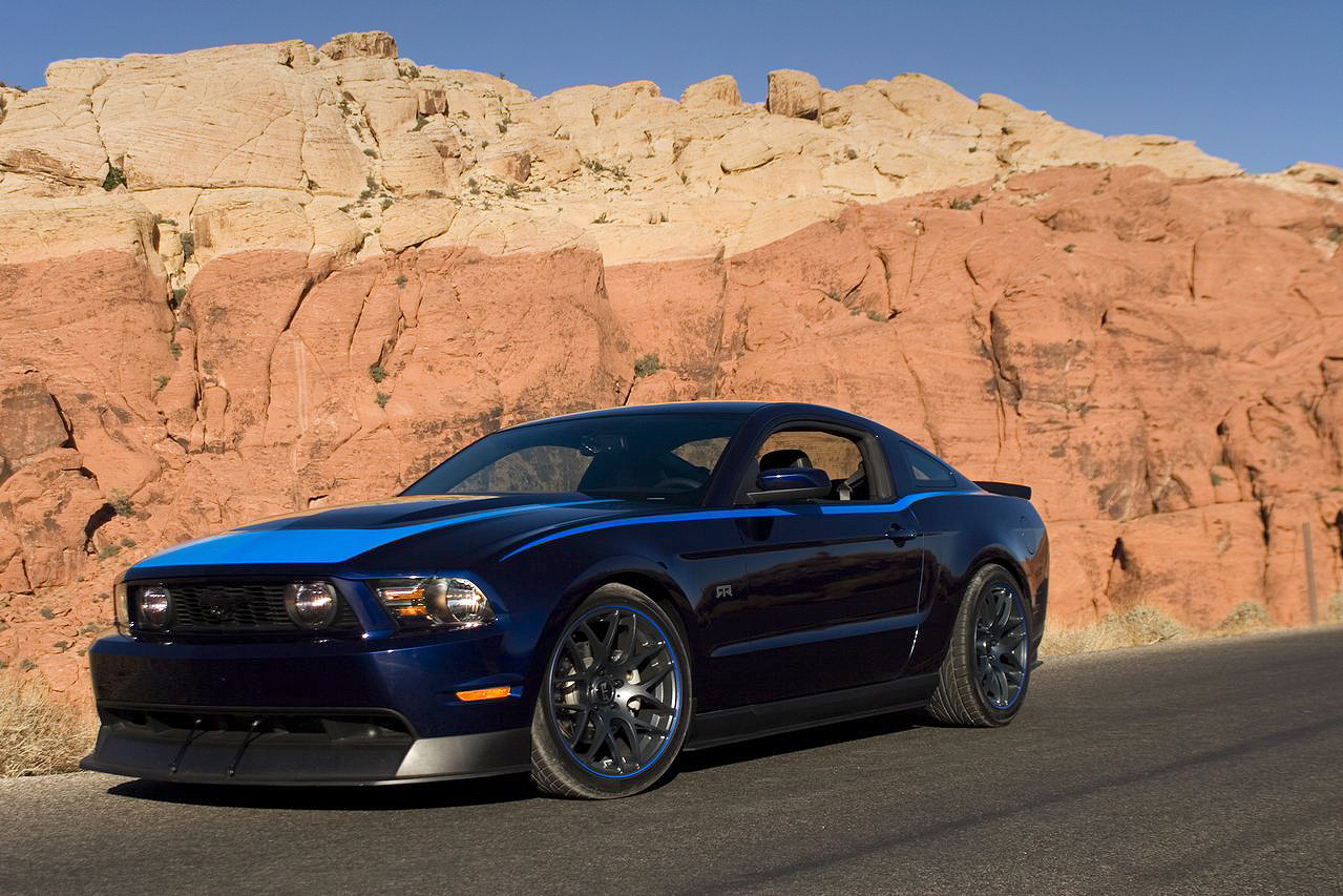 ford mustang rtr #1