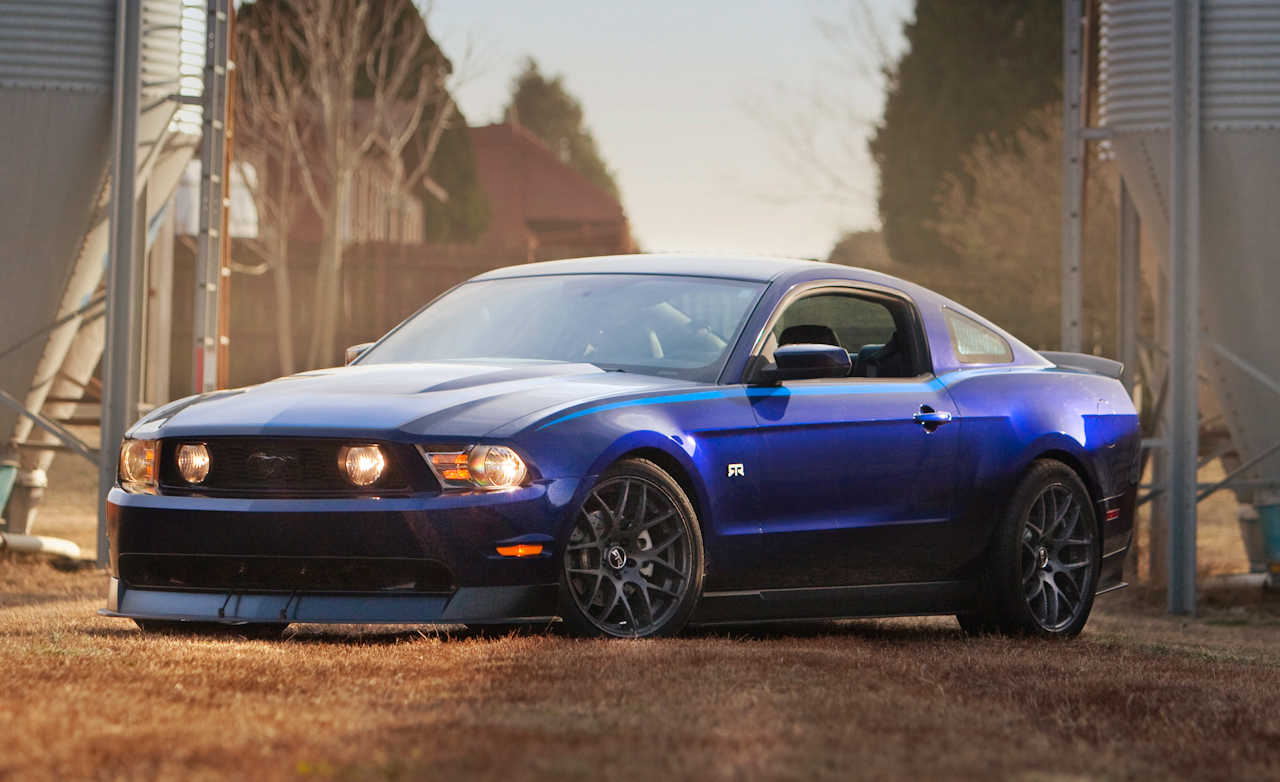 ford mustang rtr #7