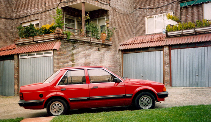 ford orion 1.6 d #5