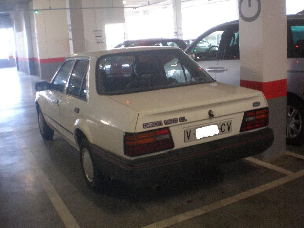 ford orion 1.6 d #7