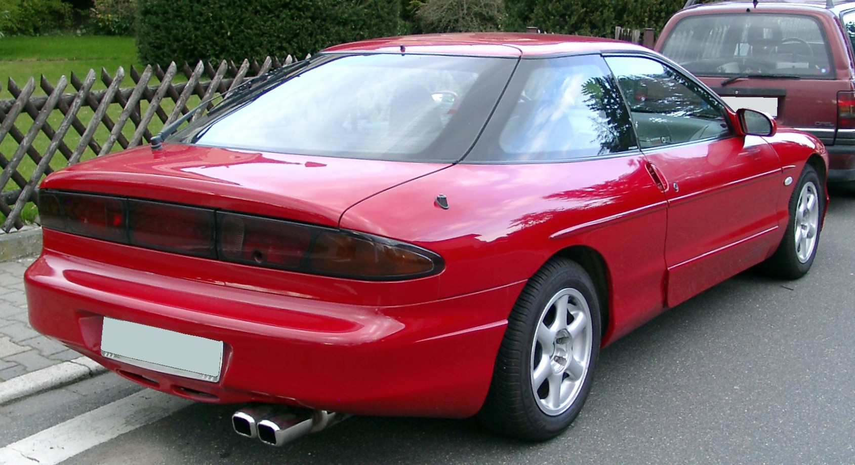 Ford probe. Photos and comments. www.picautos.com