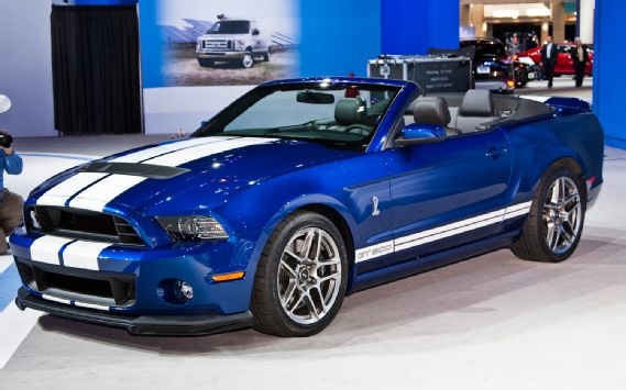 ford shelby gt 500 convertible-pic. 1