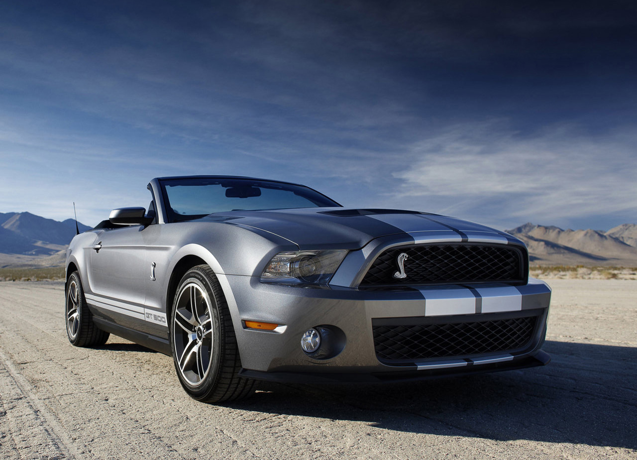 ford shelby gt 500 convertible-pic. 2