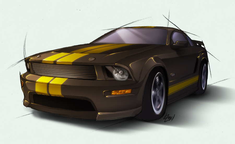 ford shelby gt-h #4