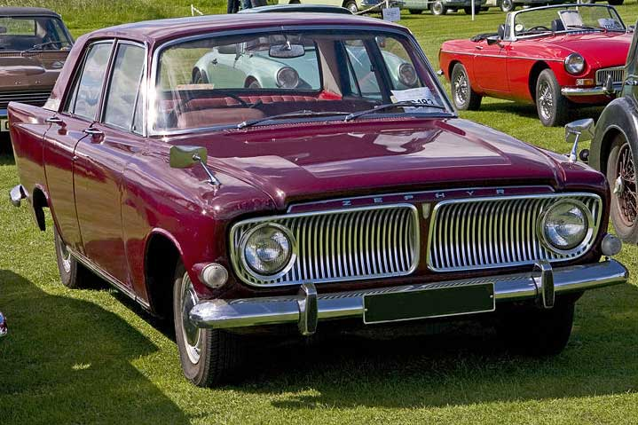 Ford Zephyr Zodiac Photos And Comments Www Picautos Com