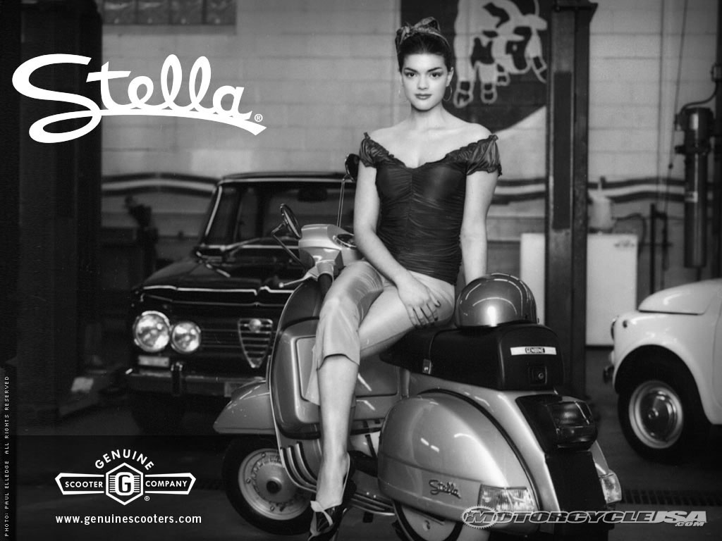 genuine scooter stella #8