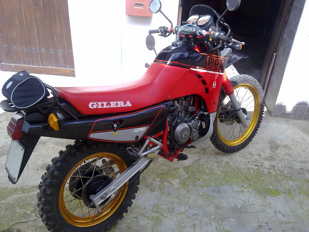gilera 125 trail photos and comments. Black Bedroom Furniture Sets. Home Design Ideas