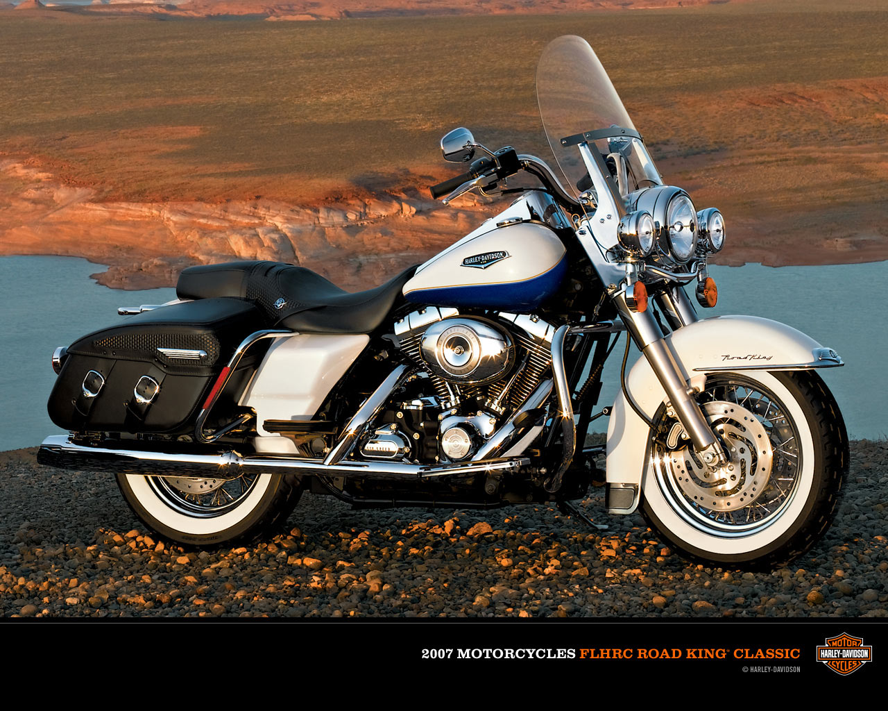 harley-davidson flhrc road king classic-pic. 1