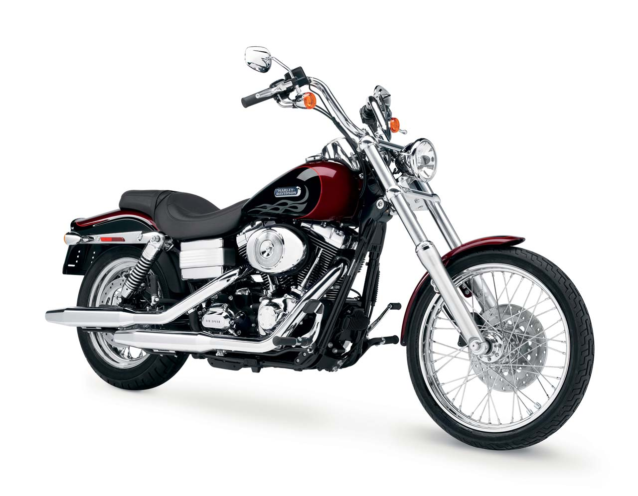 Harley-davidson fxdwgi dyna wide glide. Photos and ...
