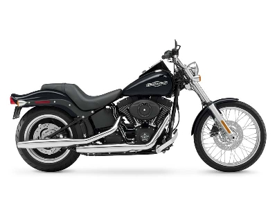 harley-davidson fxstb softail night train-pic. 2